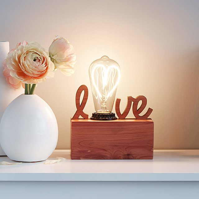 Love Lamp For Valentine's Day For Him
