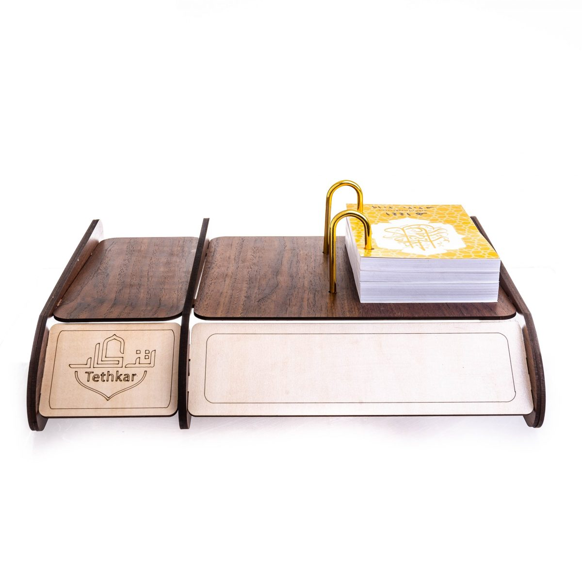 General Purpose Wooden Desk Stand With Calendar