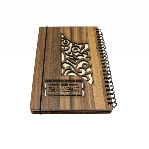 Customized Wooden Notebook