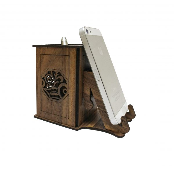 Wooden Office Mobile Stand