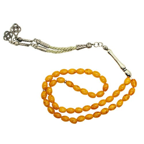 Subha With Yellow Beads