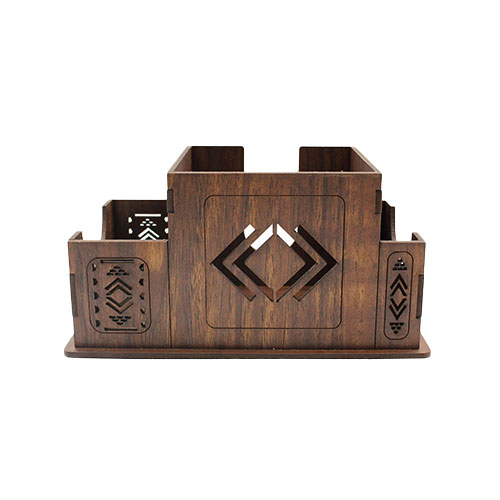 Paper and Pen Holder with Sadu engravings